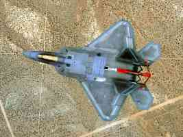 F22 Raptor from above