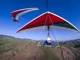 Gliding over the Mountains Cayucos California