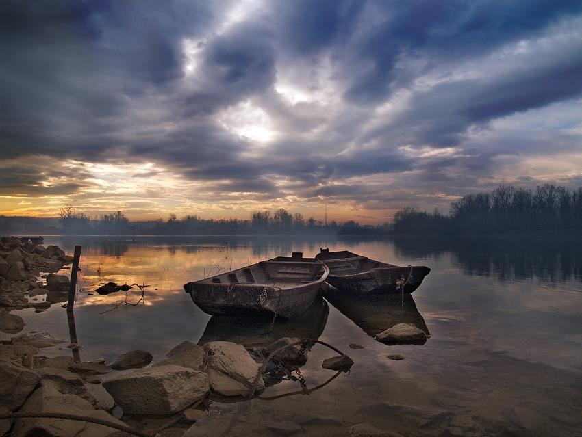 Dark Skies And Rowboats