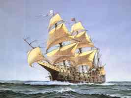 de vries boat painting