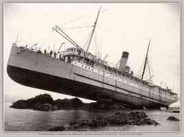 princess may run aground on sentinel island alaska 1910