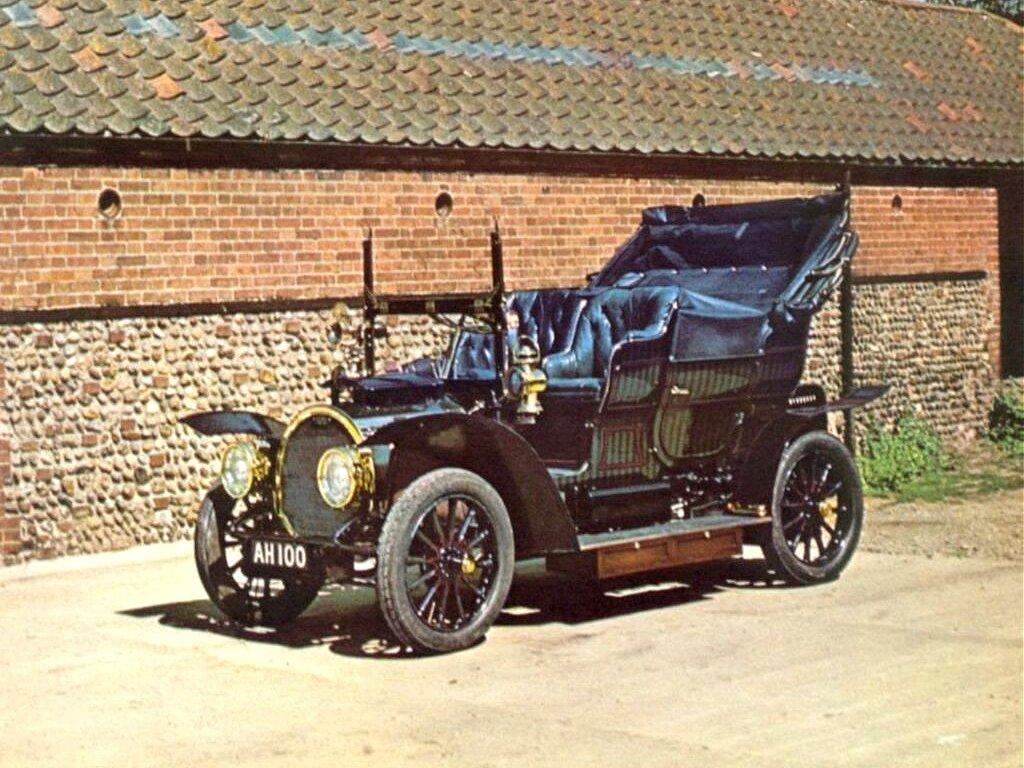 1904 Gardner Serpoller Steam Car