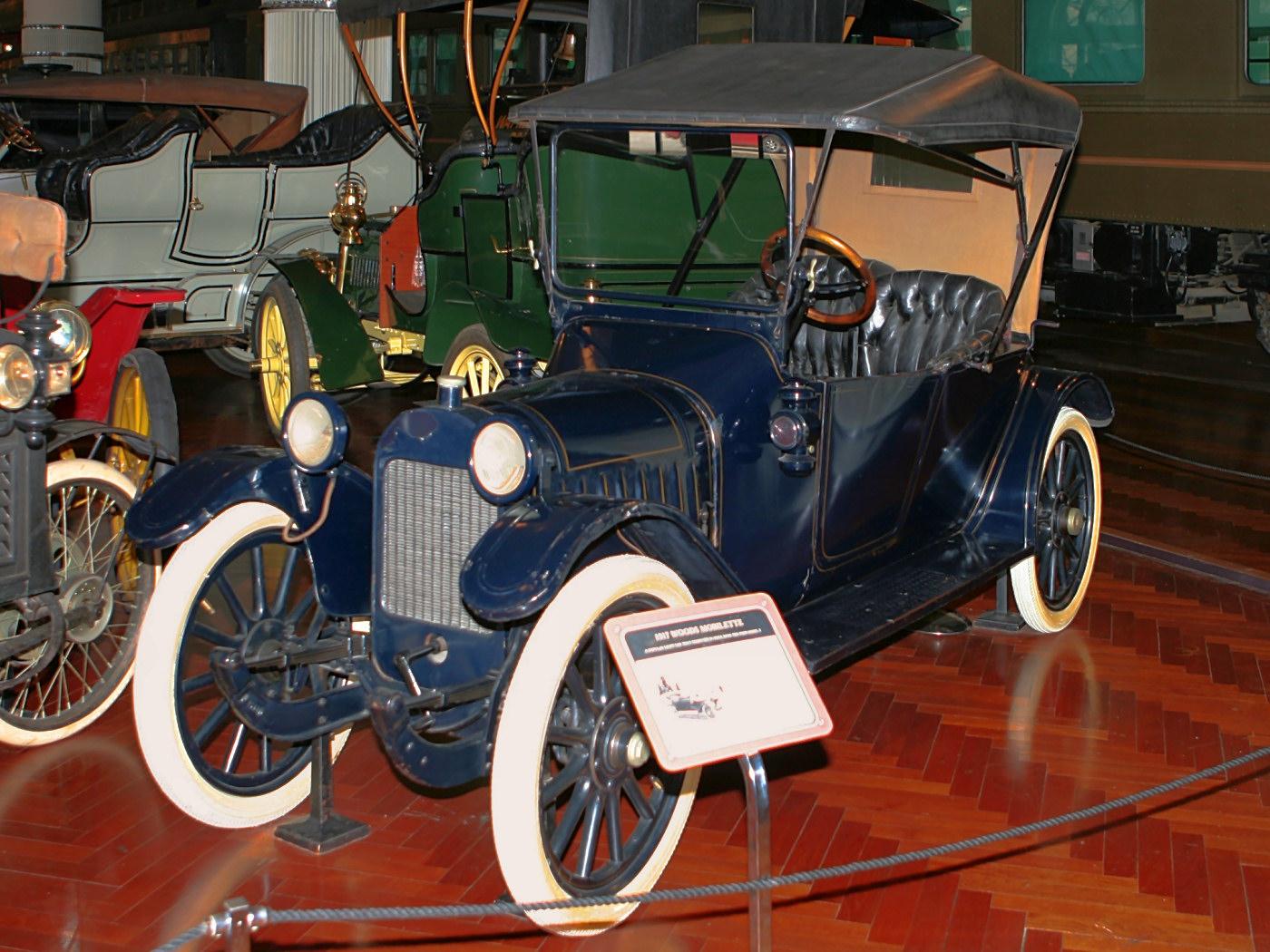 1917 Woods Model 5A Moibilette 2 Passenger Fvl H Ford Museum CL