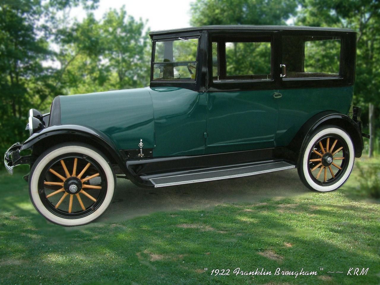 1922 Franklin Brougham