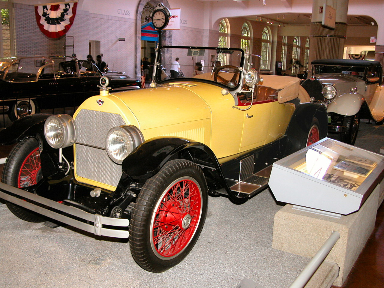 1923 Stutz Bearcat Roadster Yellow Black Fvl H Ford Museum N