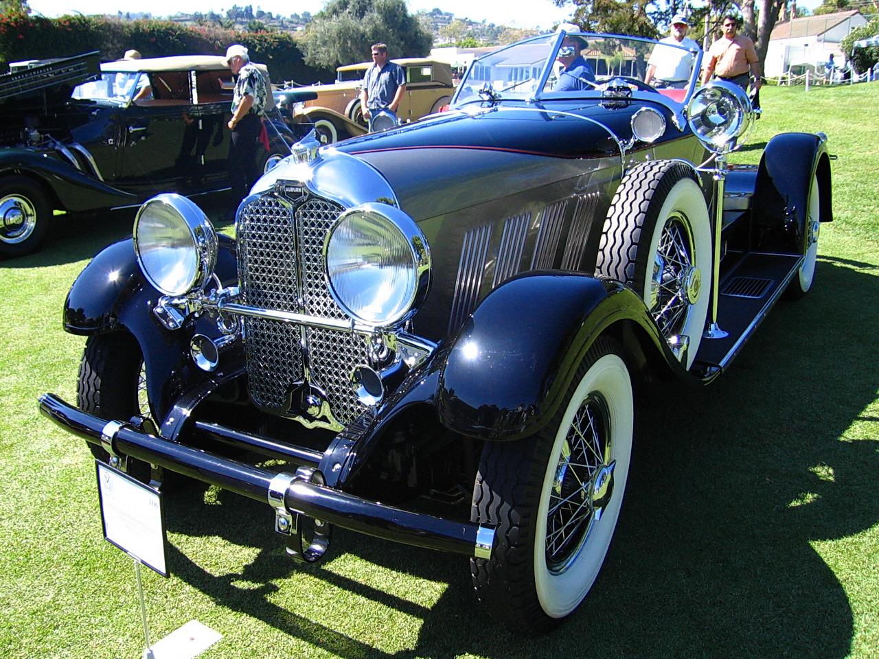 1929 Auburn Boattail Speedster Fvl