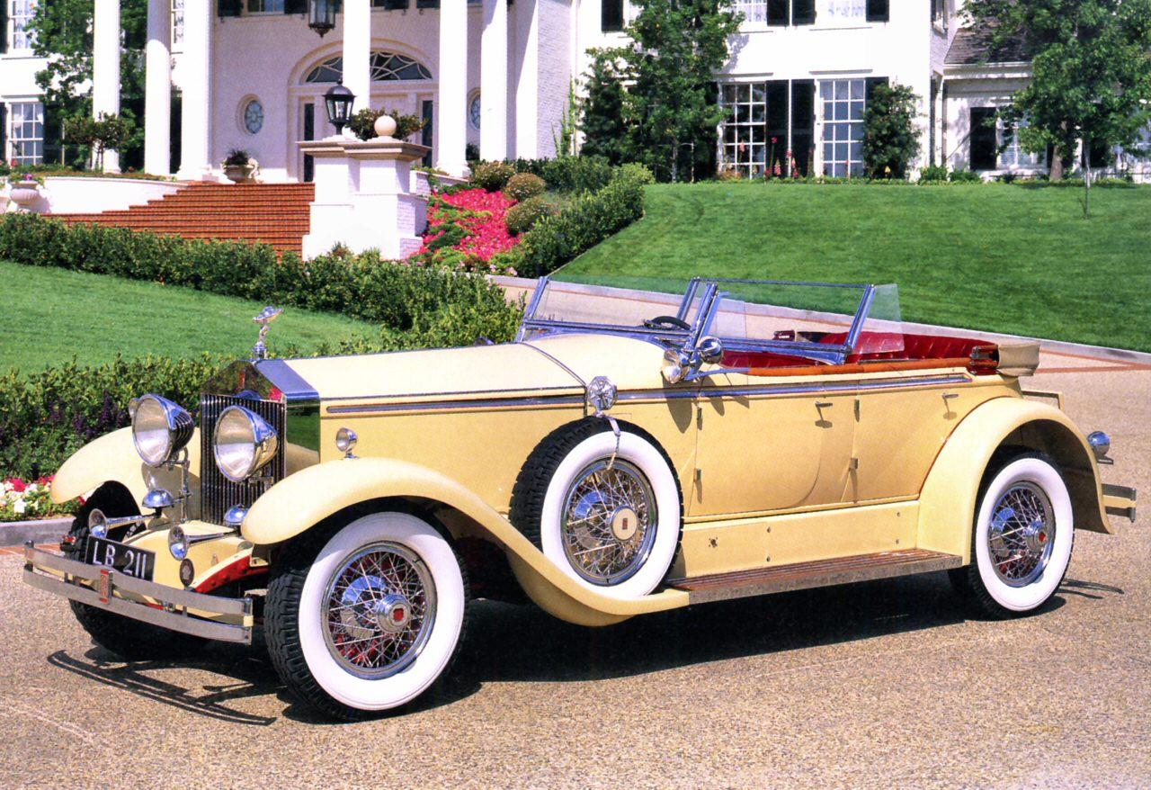 1930 Rolls Royce Phantom I Ascot Dual Cowl Phaeton By Brewster Of New York Light Yellow Fvl