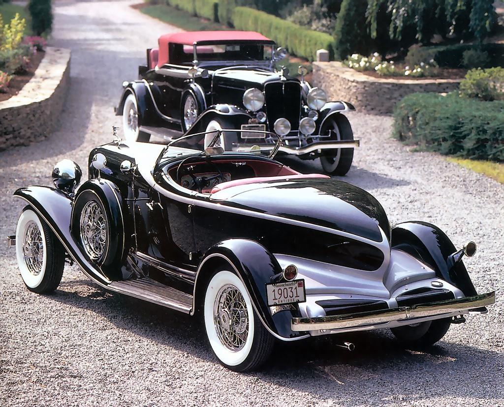 1931 Auburn Model 8 98A Custom Speedster Custom Cabriolet Rvl Fvl