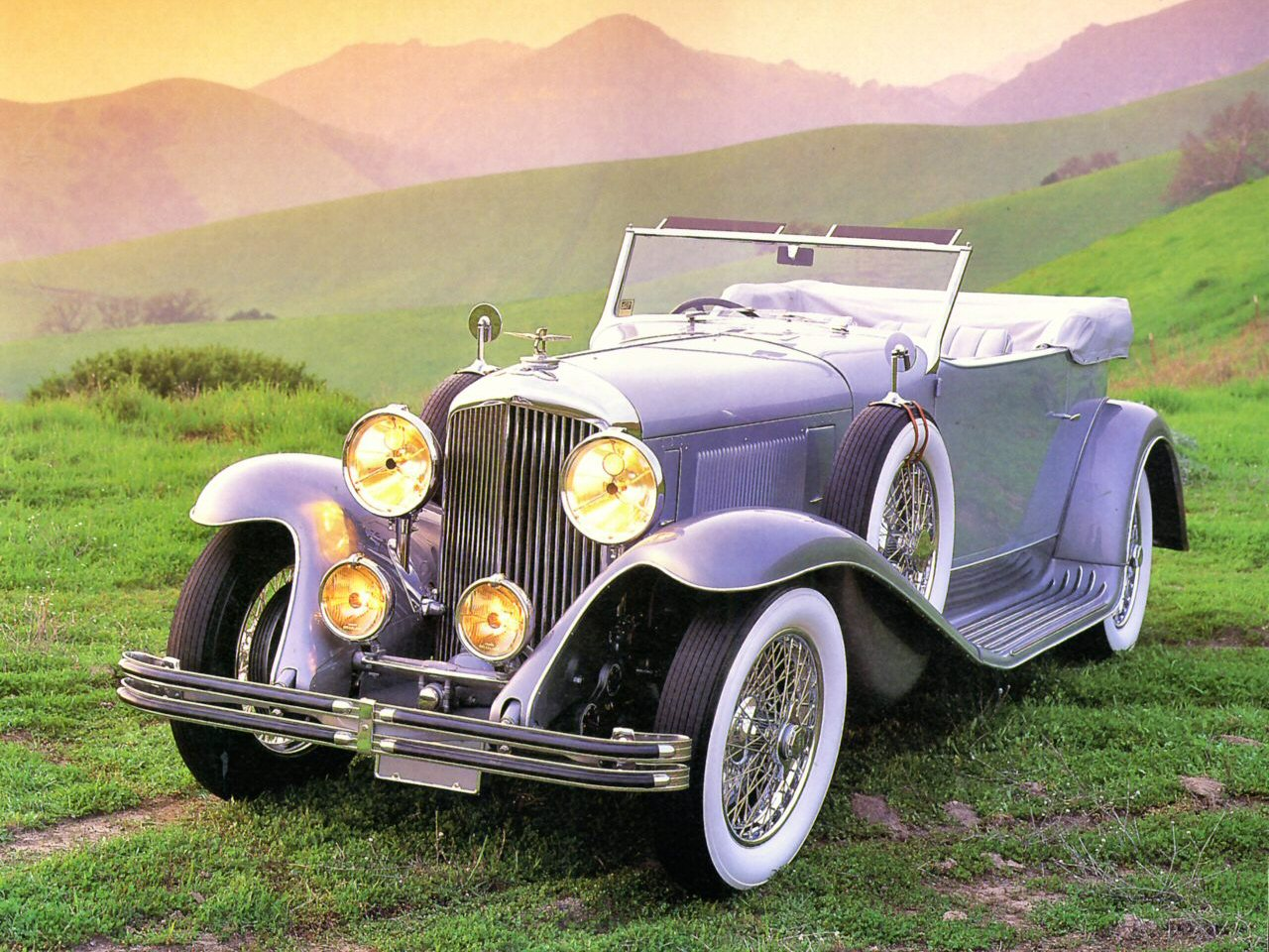 1931 Bentley Convertible Coupe By Murphy Of Pasadena Light Grey Fvl