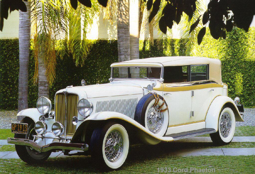 Cars 1933 Cord Phaeton
