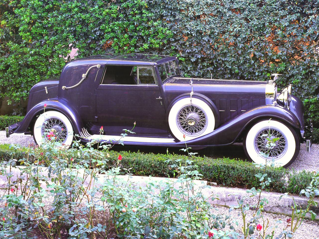 1933 Hispano Suiza J12 V 12 Coupe DeVille Body By Binder W Removeable Hardtop Dark Grey Svr