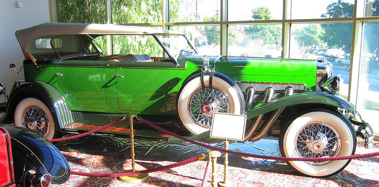 1934 Duesenberg Model J Dual Cowl Phaeton By Murphy 2 Tone Green Svr