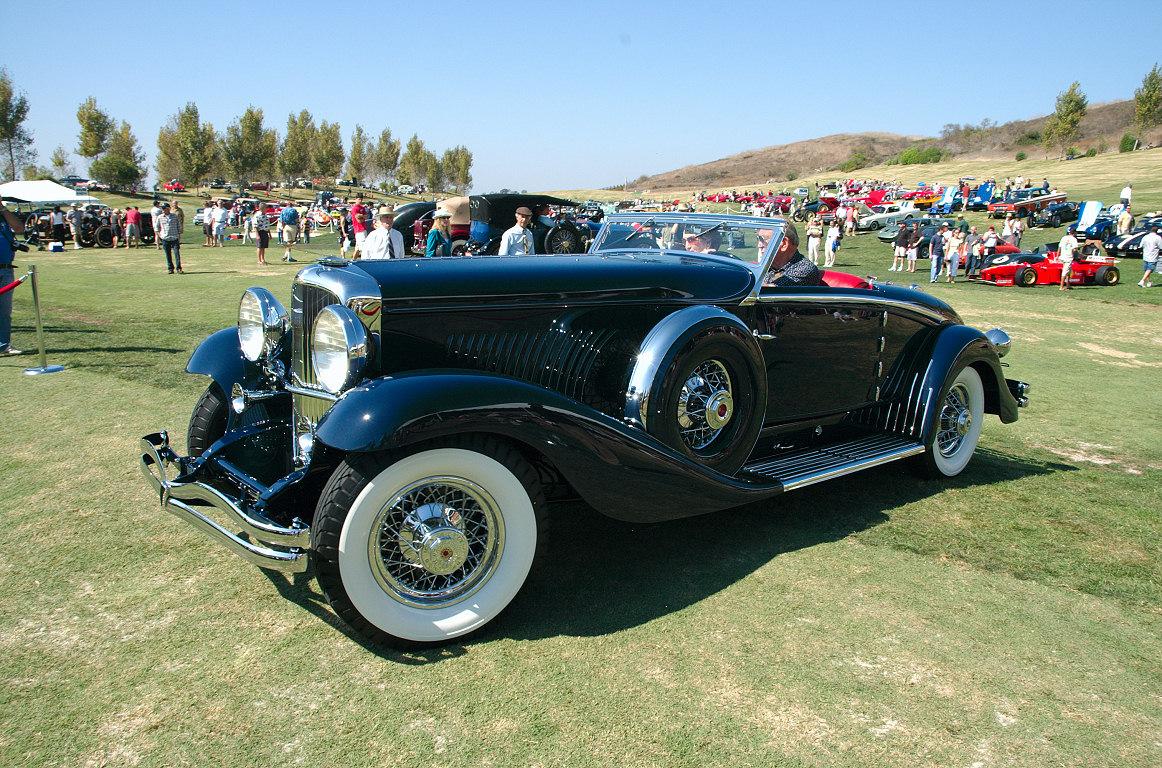 1934 Duesenberg Walker LeGrand J534 Convertible Coupe Dark Blue Fvl1