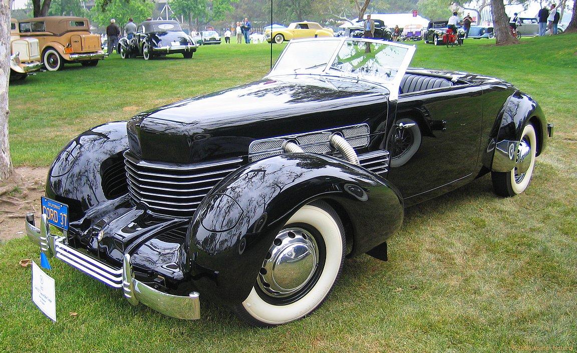 1937 Cord 812 Conv Coupe Fvl