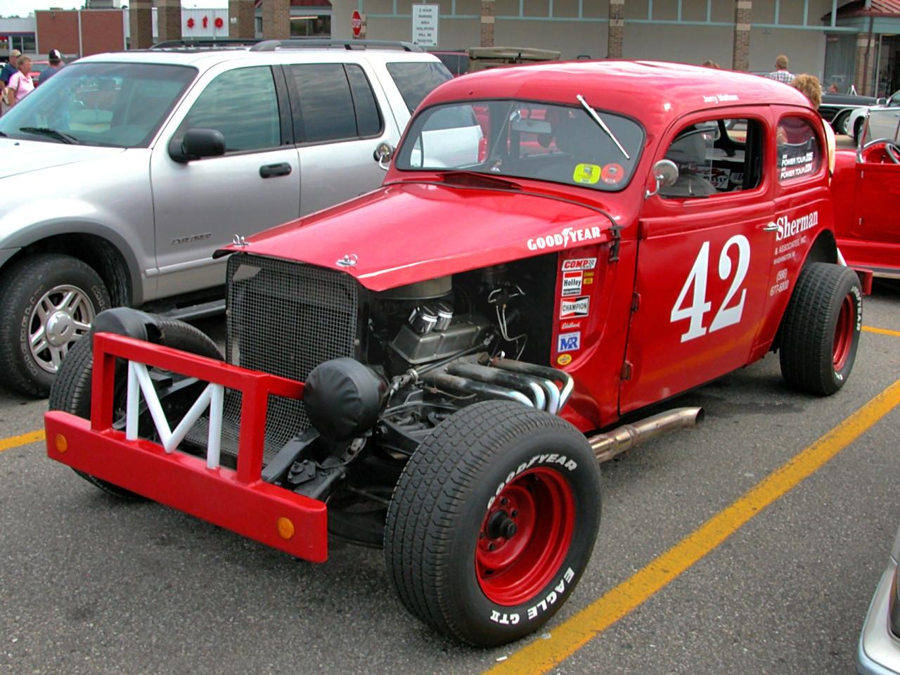 1939 Plymouth 2 Door Sedan Oval Track Race Car 196x Replica Chevrolet 350 Engine Fvl 2005 Dream Cruise N