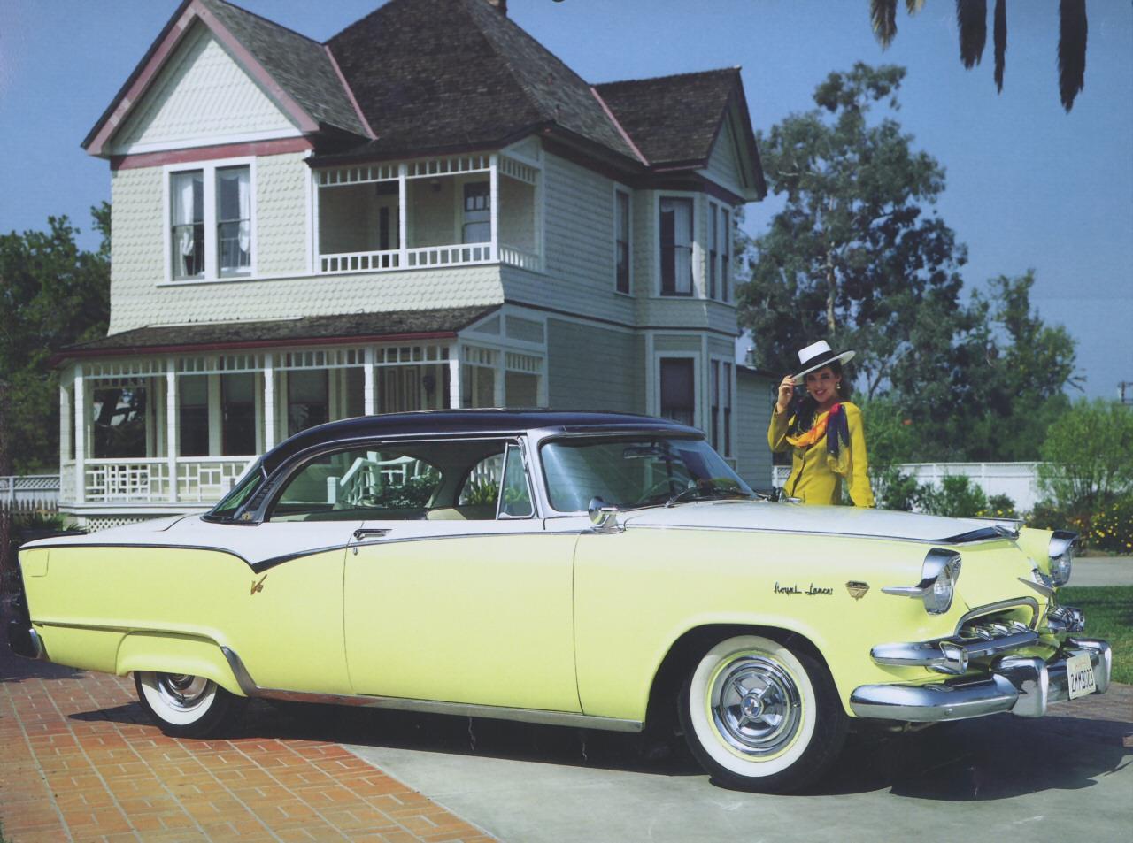 1955 dodge custom royal lancer 4 door sedan 15699 - Cars 1955 Dodge Custom Royal 1955 Dodge Custom Royal