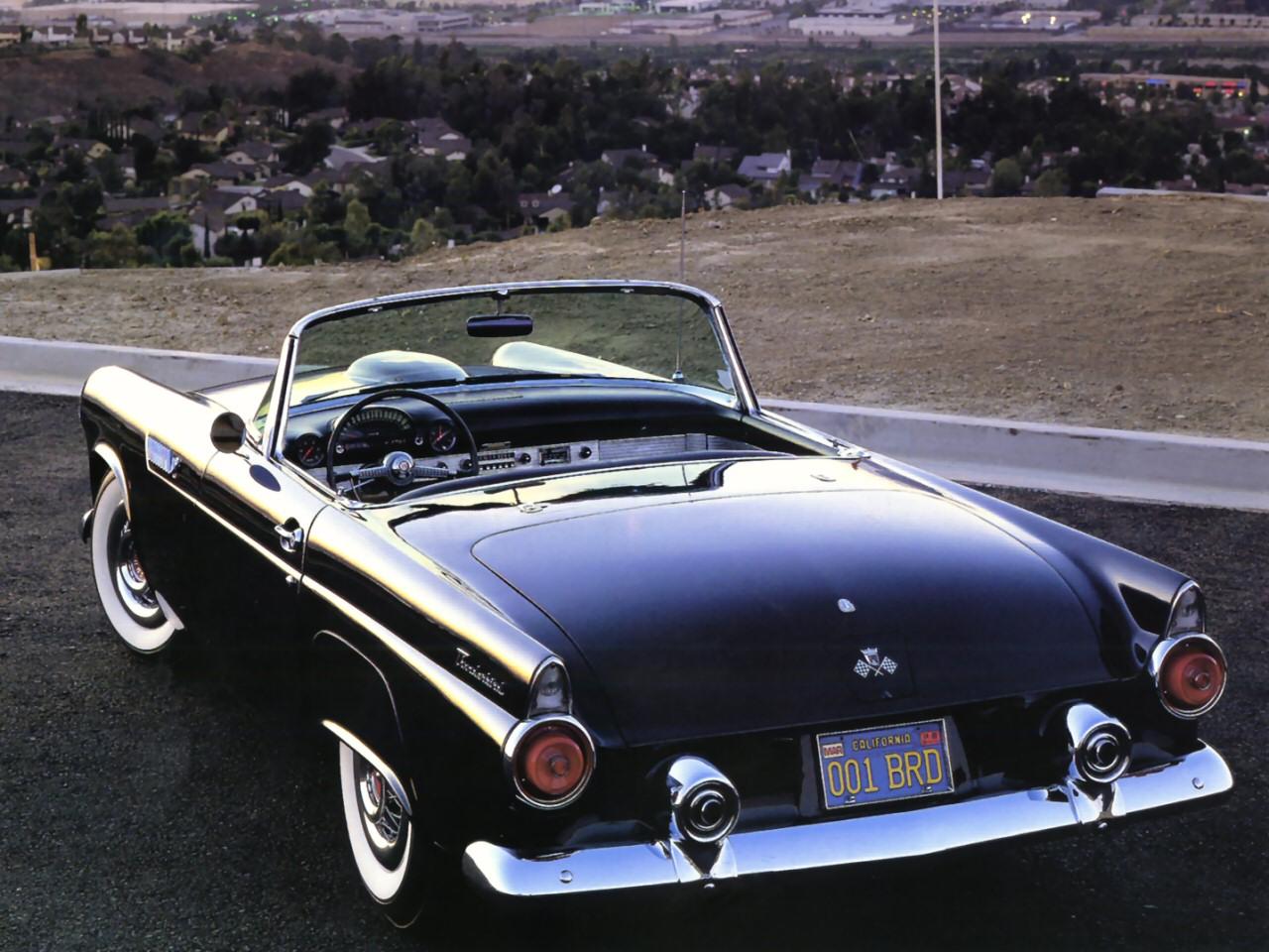 1955 Ford Thunderbird Roadster Black Rvl