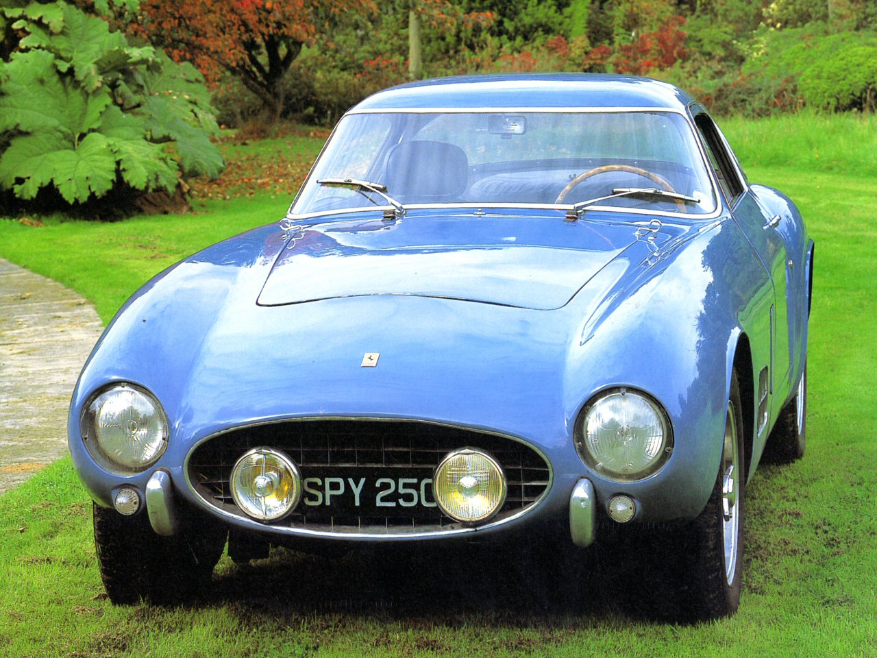 1956 Ferrari 250GT V 12 Blue Hfv