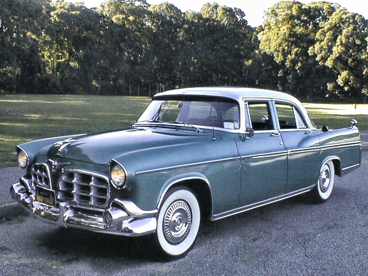 1956 Imperial 4 Door Sedan Grey Fvl