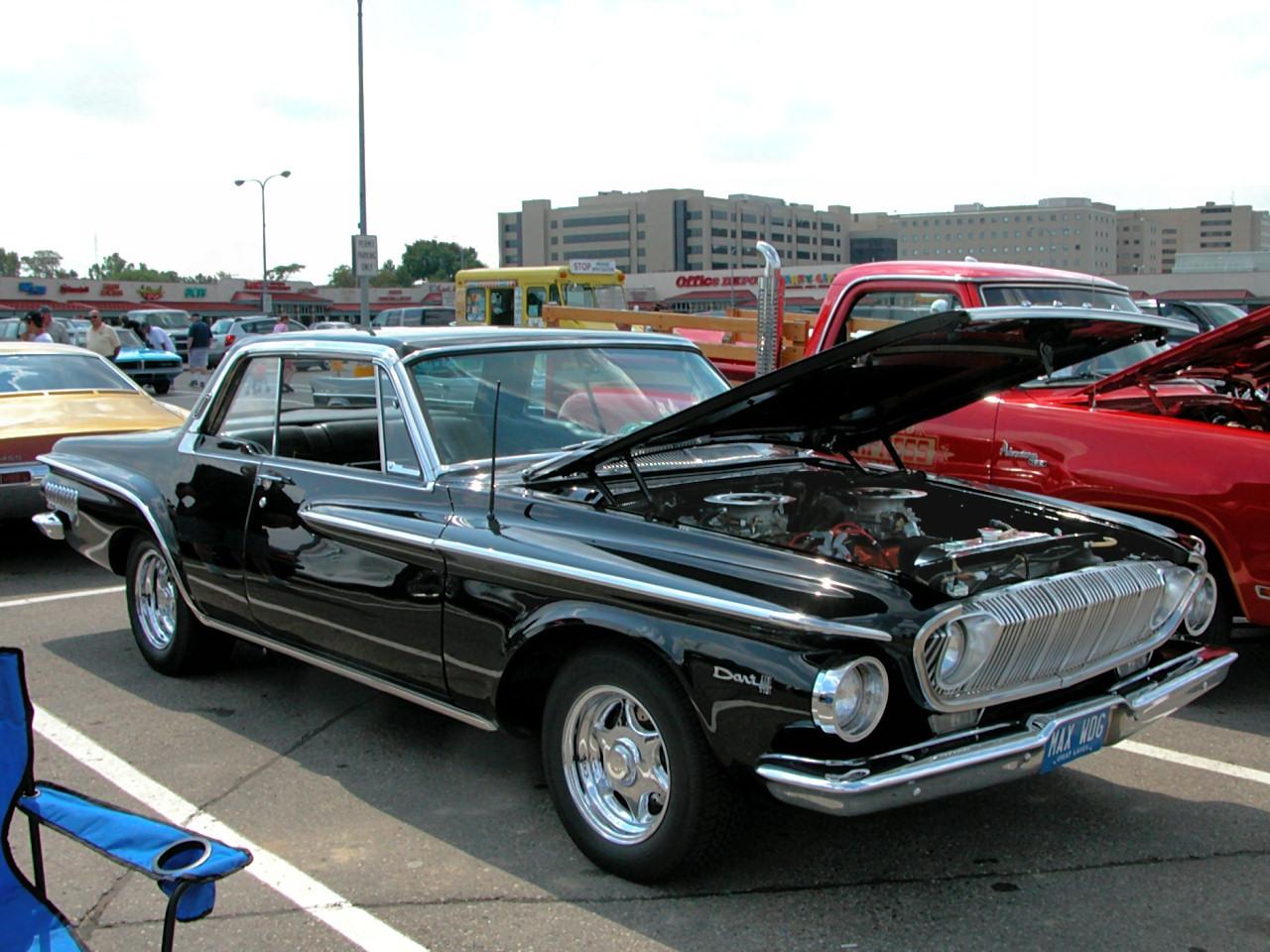 1962 Dodge Dart 440 2 Door Hardtop With 413 Short Ram Max Wedge Black Fvr 2005 Dream Cruise N