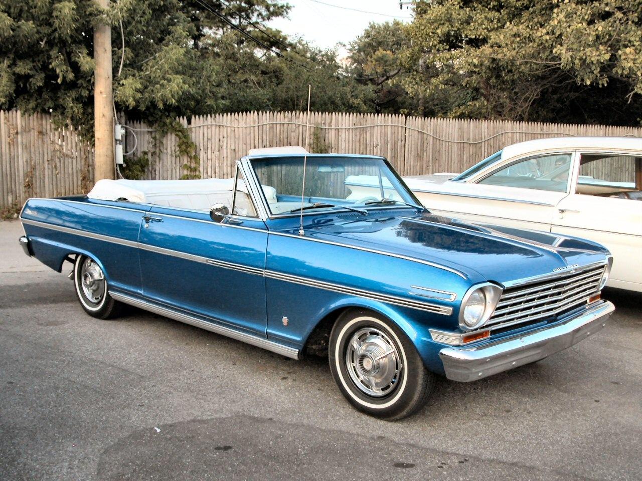1963 Chevrolet Chevy II Nova SS Convertible Blue Fvr 2004 Dream Cruise N