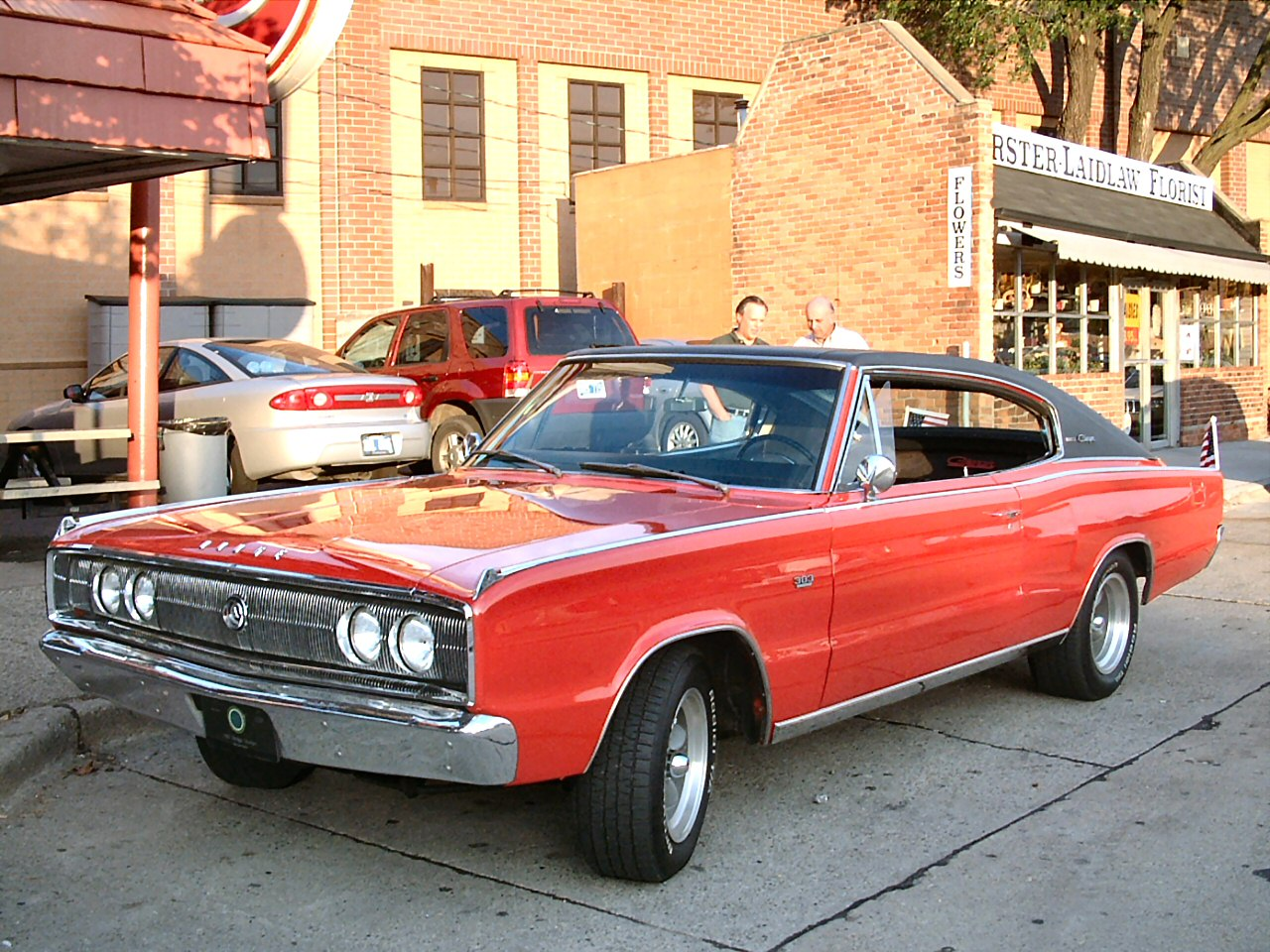 1967 Dodge Charger 383 With Black Vinyl Top Red Fvl 2004 Dream Cruise F