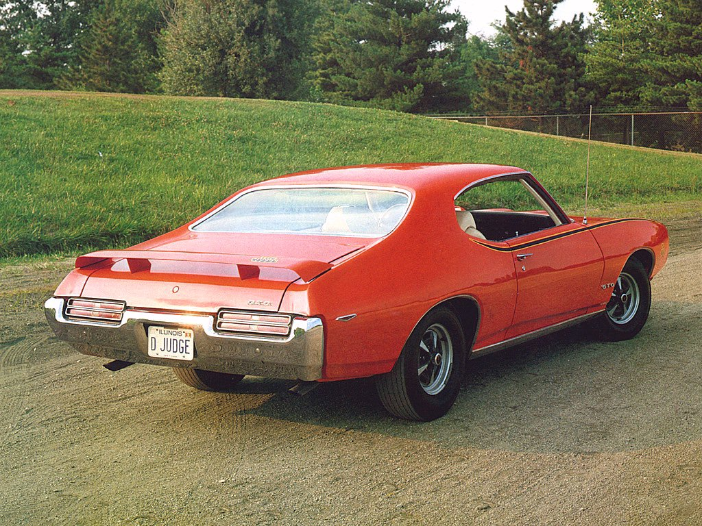 1969 Pontiac GTO Judge Coupe Orange Rvl