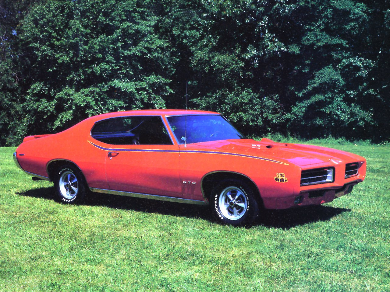 1969 Pontiac GTO The Judge Orange Fvr