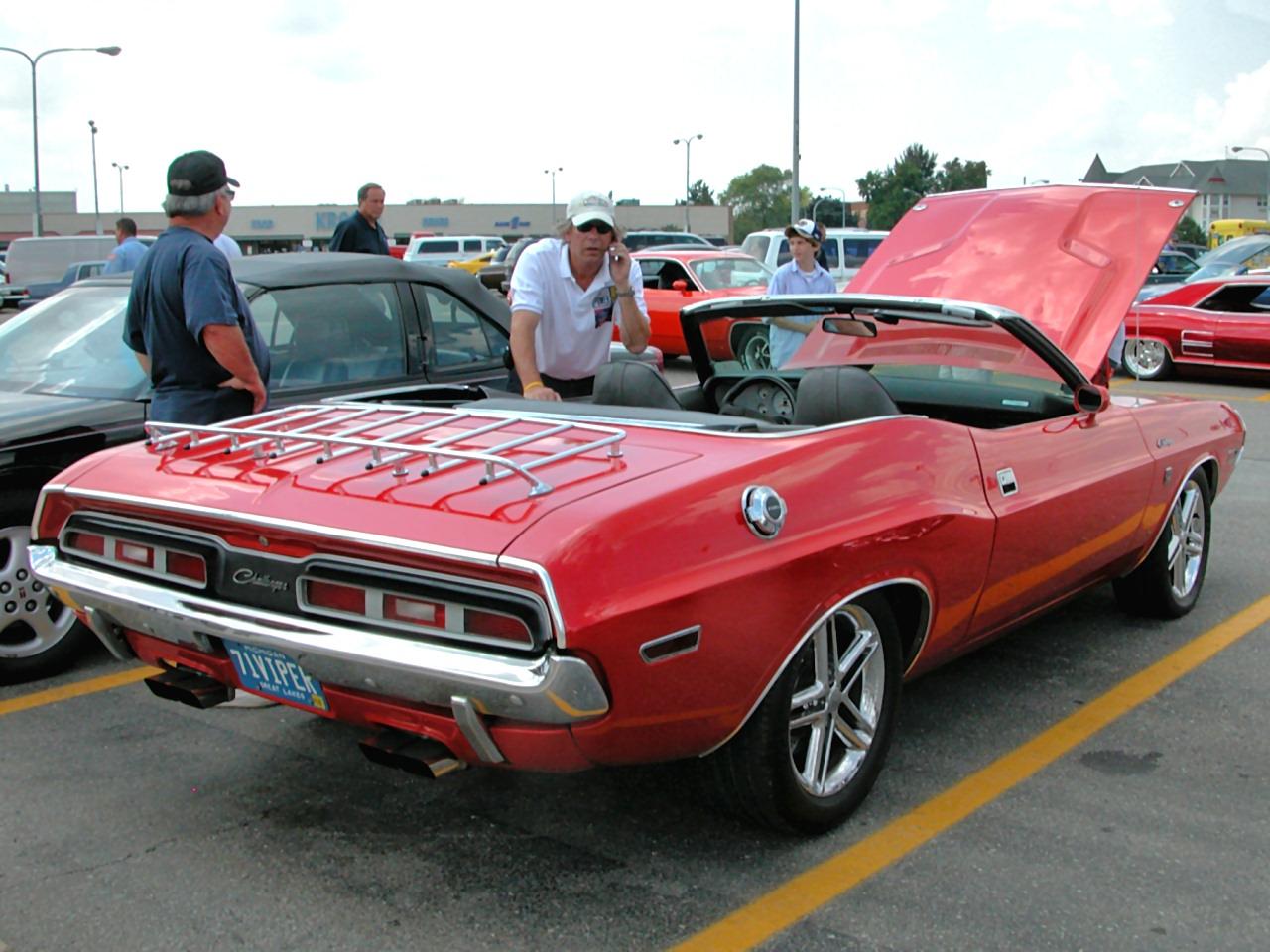 1971 Dodge Challenger Convertible W 8 0L Viper V 10 Engine Bright Red Rvr 2005 Dream Cruise N