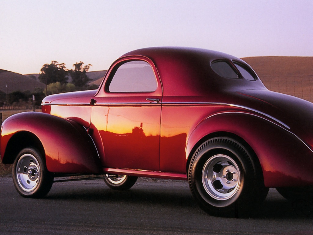 Hot Rods 1927 Willys Coupe - Cars Wallpaper