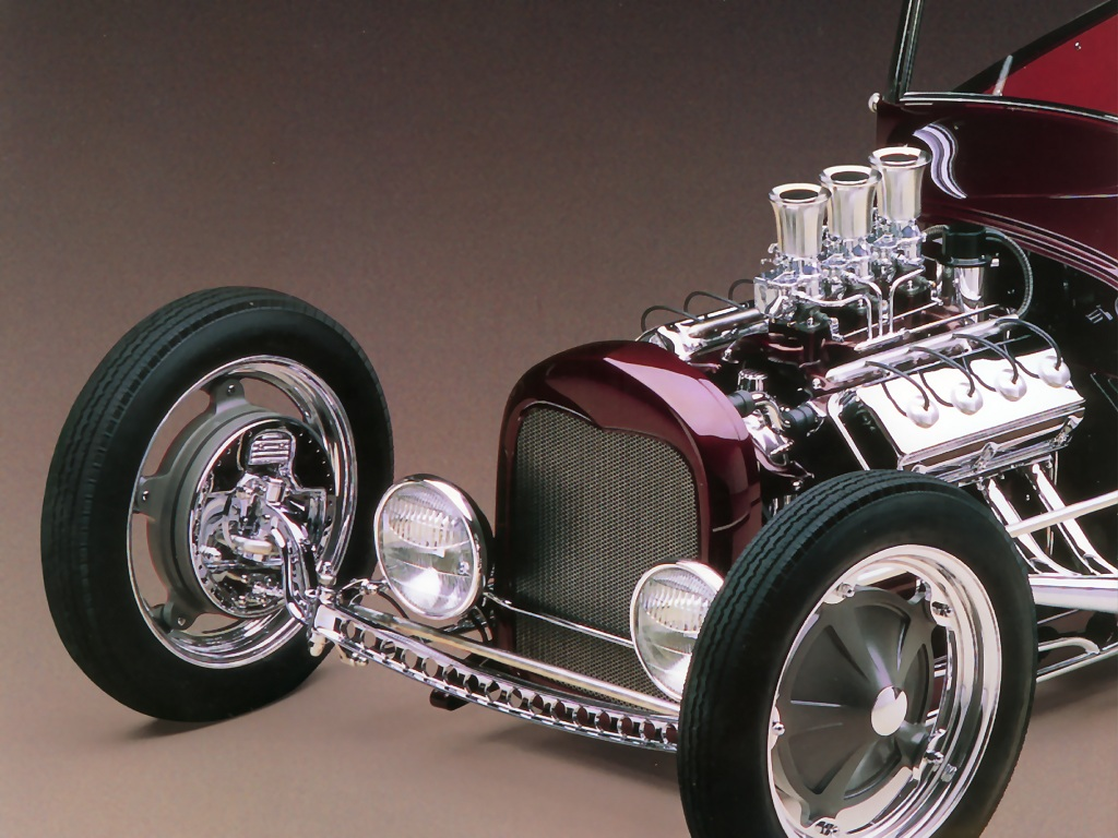 Hot Rods 1929 Ford Roadster Pickup
