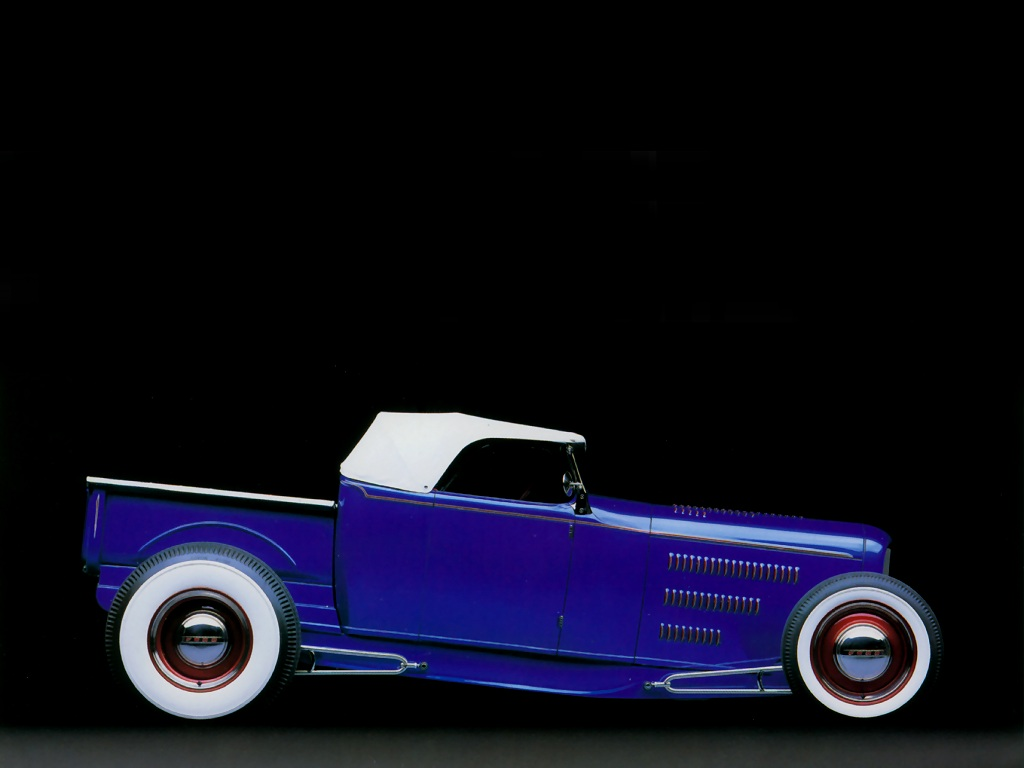 Hot Rods 1931 Ford Roadster Pickup