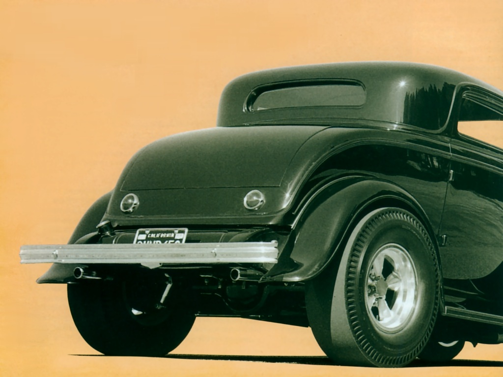 Hot Rods 1932 Ford Coupe 10 - Transport Wallpaper Image featuring Cars