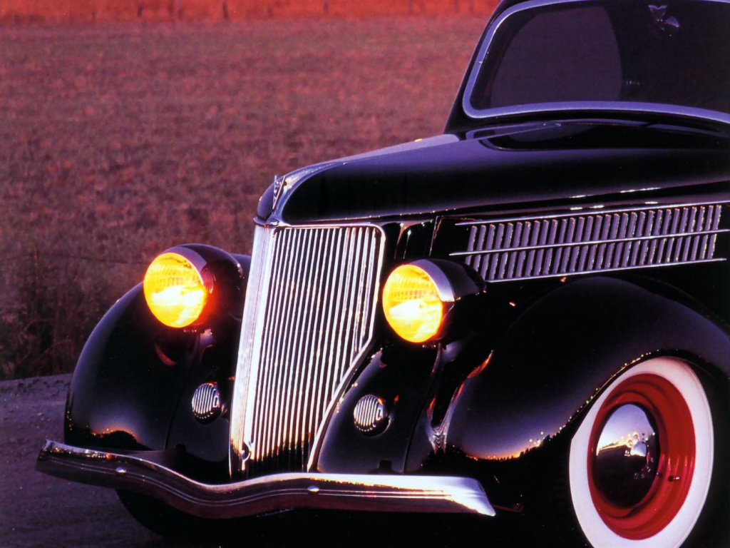 Hot Rods 1936 Ford Coupe