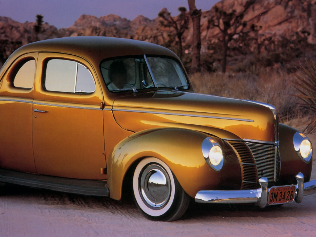 Hot Rods 1940 Ford Coupe
