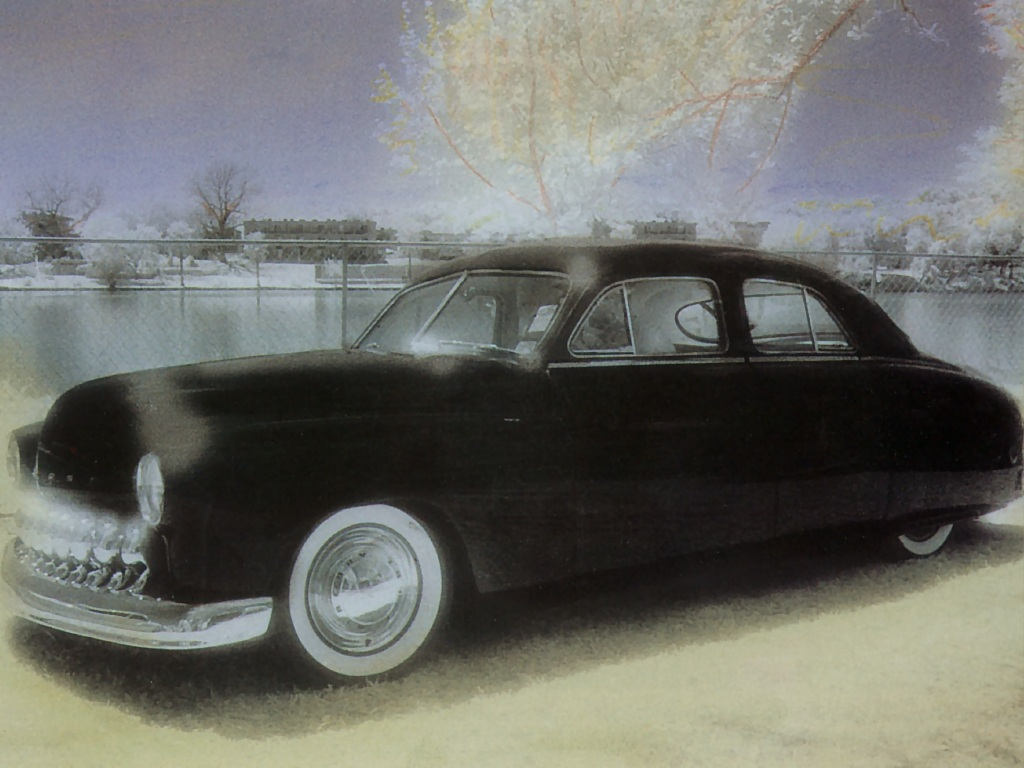 Hot Rods 1949 Merc Four Door