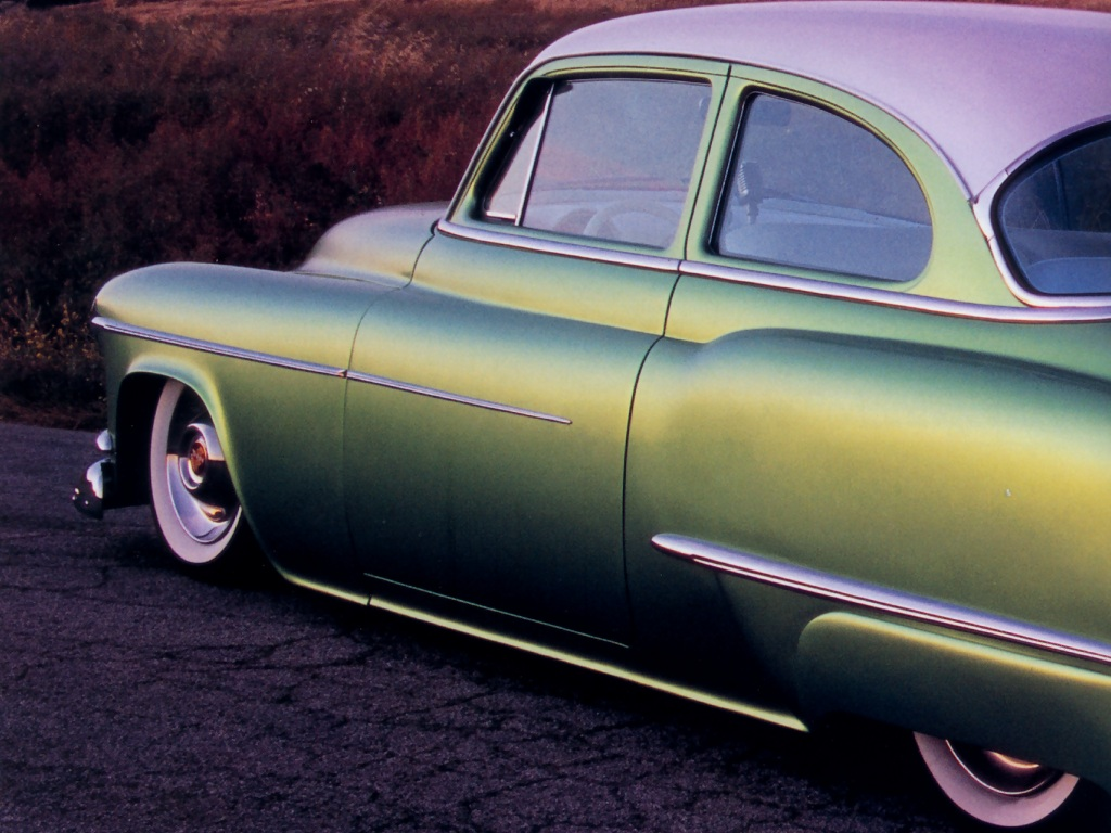 Hot Rods 1952 Oldsmobile 4