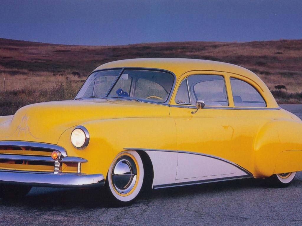 Hot Rods 1952 Oldsmobile 5