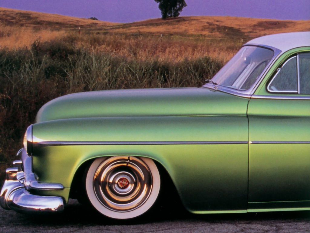 Hot Rods 1952 Oldsmobile