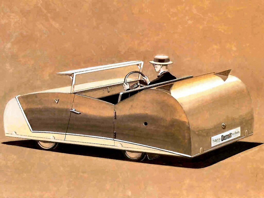 Early 20th Century Concept Car