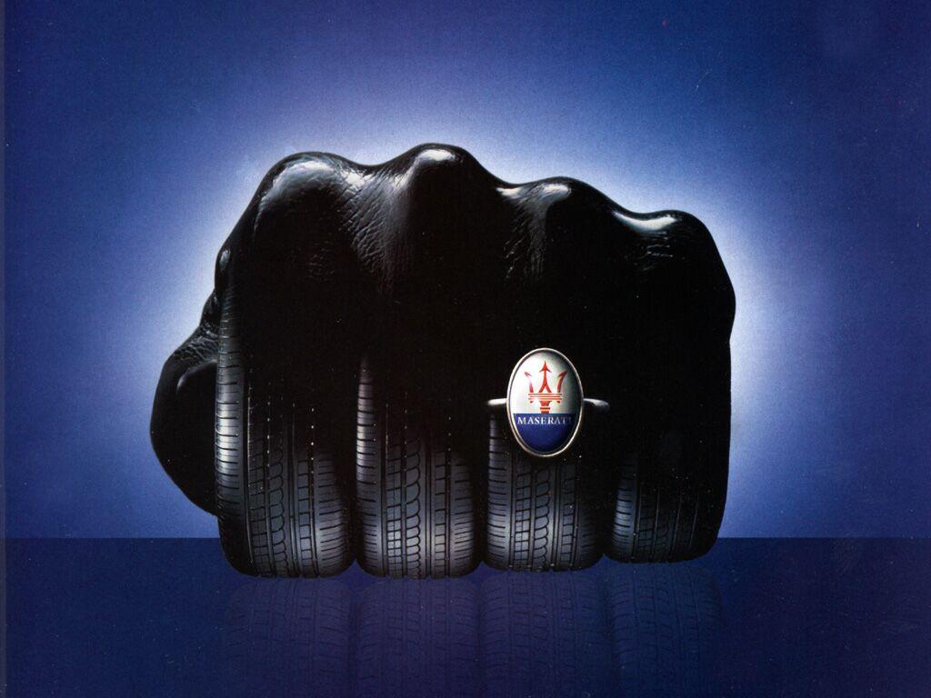 Maserati Tire Hand