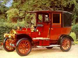 1908 unic taxi