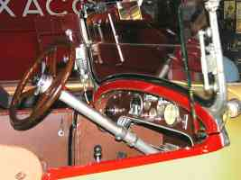 1923 Stutz Bearcat Roadster Yellow Black Instrument Panel H Ford Museum N