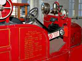 1926 Ford Model T Fire Truck with American LaFrance Equipment Instrument Panel H Ford Museum CL