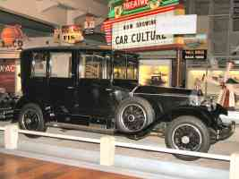 1926 Rolls Royce Phantom I Limousine with Body by Brewster Black fsvr H Ford Museum N