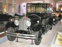 1926 Rolls Royce Phantom I Limousine with Body by Brewster Black fvl H Ford Museum N