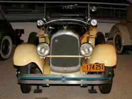 1927 Chrysler Imperial Sportif Dual Cowl Phaeton Yellow Black fv H Ford Museum CS