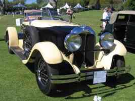 1928 Auburn 115 Boattail Speedster fvr