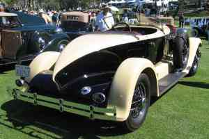 1928 Auburn 115 Boattail Speedster rvr
