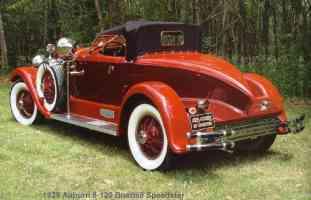 1929 Auburn 8 120 Boattail Speedster